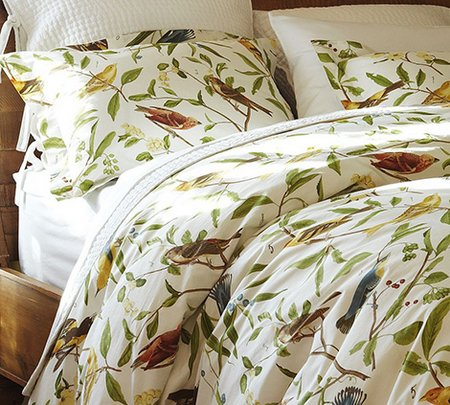 Bird Motif Bedding Spring Decorating Idea Www Nicespace Me